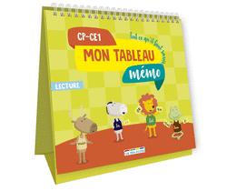 Mon tableau mémo - Lecture, CP-CE1 - 9782820808219 - Éditions rue des écoles - couverture