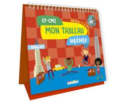 Mon tableau mémo - Anglais, Primaire - 9782820808257 - Éditions rue des écoles - couverture