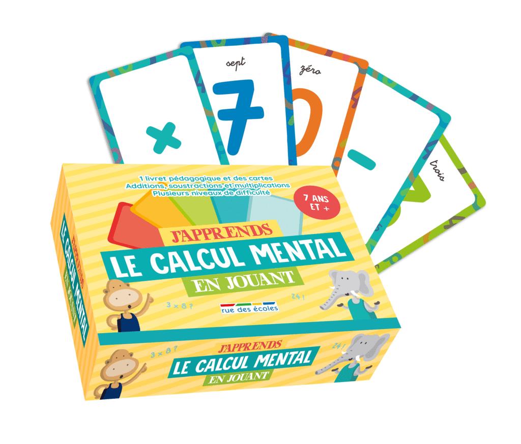 J'apprends le calcul mental en jouant - 7 ans et plus - 9782820808288 - Éditions rue des écoles - couverture