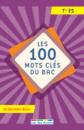 100 mots clés du Bac Sciences éco. - 9782820808486 - Éditions rue des écoles - couverture