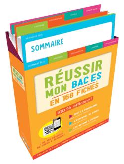Boîte à fiches : Réussir mon Bac ES - 9782820808882 - Éditions rue des écoles - couverture