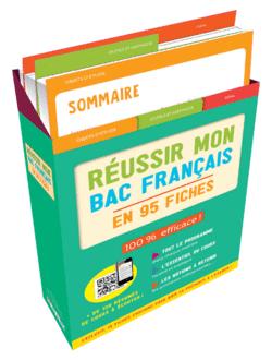Boîte à fiches : Réussir mon Bac Français - 9782820808905 - Éditions rue des écoles - couverture