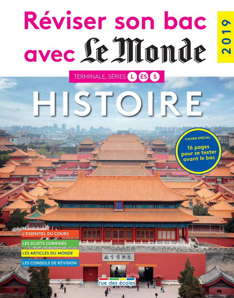Réviser son bac avec Le Monde : Histoire - 9782820808998 - Éditions rue des écoles - couverture