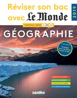 Réviser son bac avec Le Monde : Géographie - 9782820809001 - Éditions rue des écoles - couverture