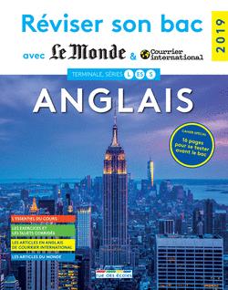 Réviser son bac avec Le Monde et Courrier international : Anglais - 9782820809056 - Éditions rue des écoles - couverture