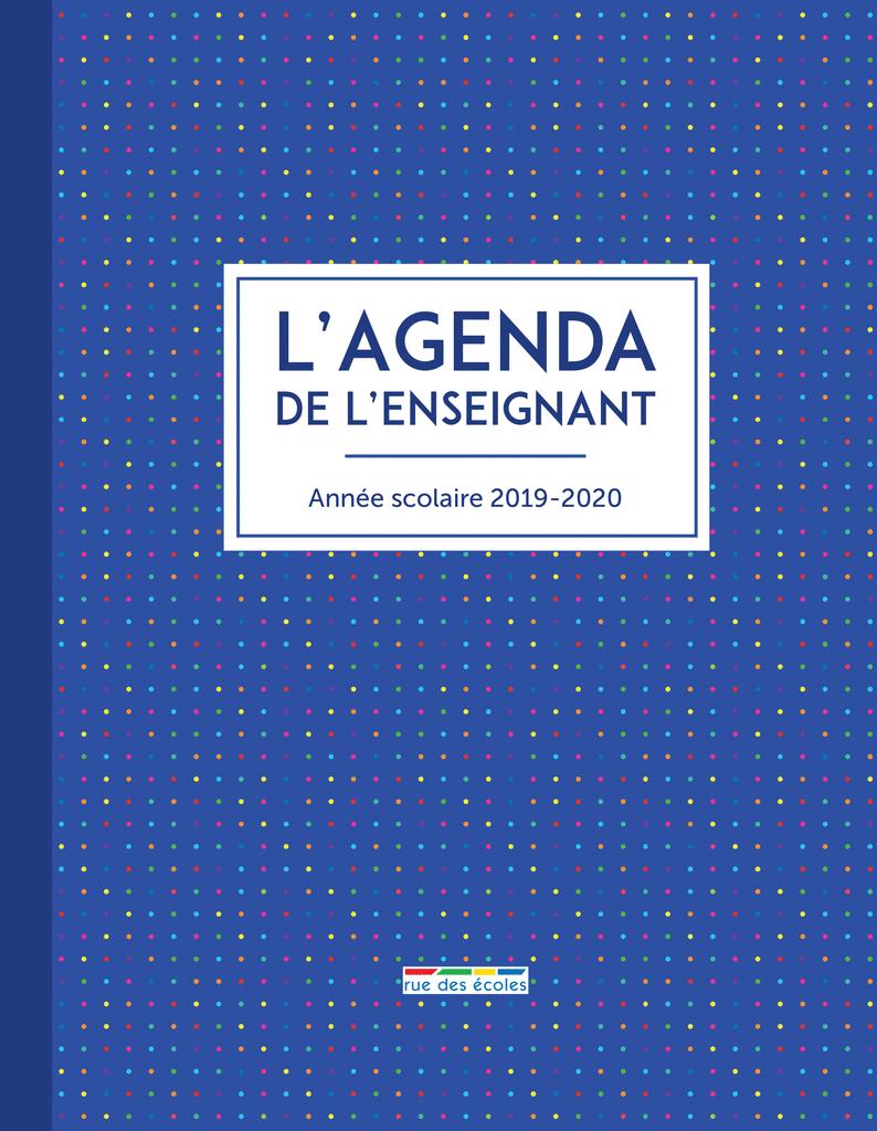 L'Agenda de l'enseignant - 9782820809391 - Éditions rue des écoles - couverture