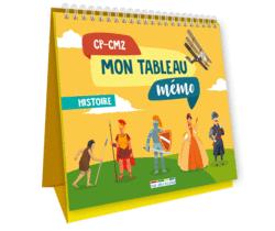 Mon tableau mémo - Histoire, CP-CM2 - 9782820809780 - Éditions rue des écoles - couverture