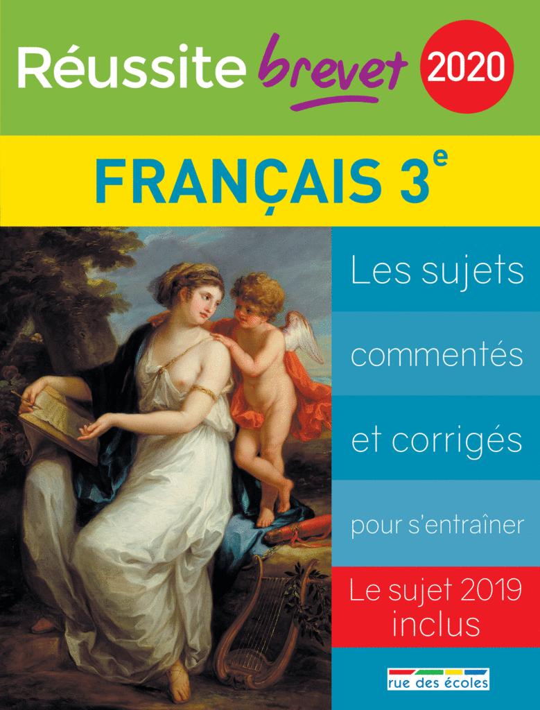 Réussite brevet 2020 - Français - 9782820809971 - Éditions rue des écoles - couverture