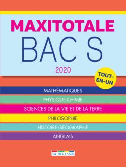 MaxiTotale 2020 - Bac S - 9782820810021 - Éditions rue des écoles - couverture