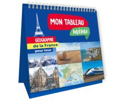 Mon tableau mémo - Géographie de la France - 9782820810113 - Éditions rue des écoles - couverture