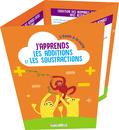 L'école à la carte - J'apprends les additions et les soustractions - 9782820810144 - Éditions rue des écoles - couverture