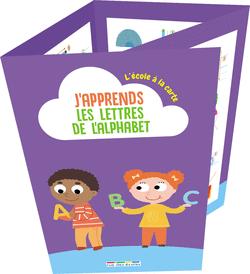 L'école à la carte - J'apprends les lettres de l'alphabet - 9782820810151 - Éditions rue des écoles - couverture