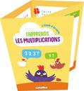 L'école à la carte - J'apprends les multiplications - 9782820810168 - Éditions rue des écoles - couverture