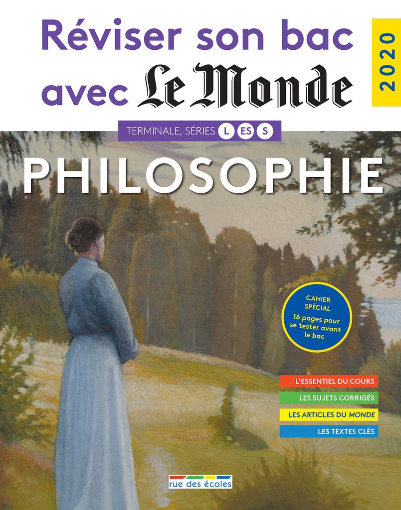 Réviser son bac avec Le Monde : Philosophie - 9782820810281 - Éditions rue des écoles - couverture