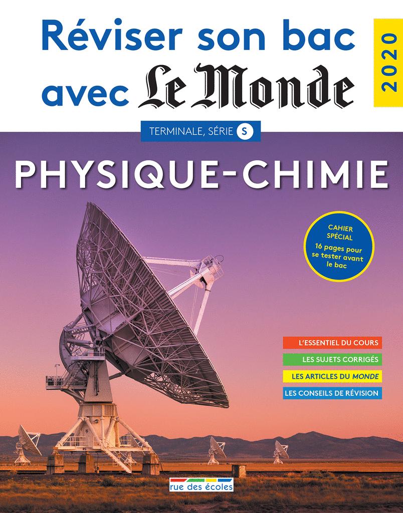 Réviser son bac avec Le Monde : Physique-Chimie TS - 9782820810342 - Éditions rue des écoles - couverture