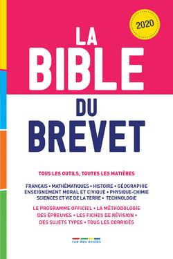 La Bible du Brevet, Édition 2020 - 9782820810373 - Éditions rue des écoles - couverture