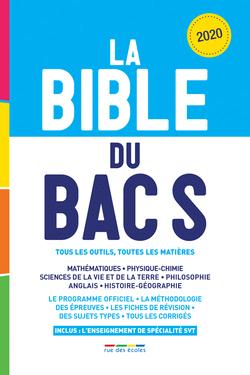 La Bible du Bac S, Édition 2020 - 9782820810380 - Éditions rue des écoles - couverture
