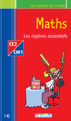 Les Carnets de l'école Français CE2-CM1 : les repères essentiels - 9782844314376 - rue des écoles - couverture