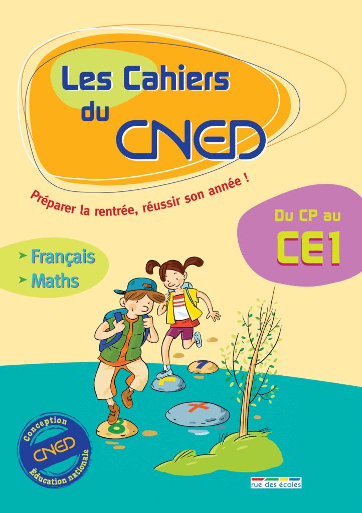 Les Cahiers du CNED Du CP au CE1 - 9782844316004 - rue des écoles - couverture