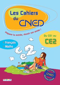 Les Cahiers du CNED Du CE1 au CE2 - 9782844316011 - rue des écoles - couverture