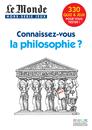 Le Monde, Hors-série jeux : Connaissez-vous la philosophie ? - 9782844317889 - rue des écoles - couverture