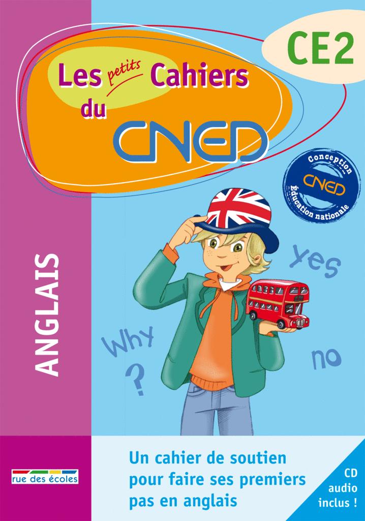 Les petits Cahiers du CNED Anglais CE2 - 9782844319067 - rue des écoles - couverture