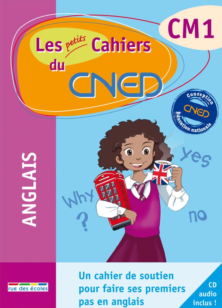 Les petits Cahiers du CNED Anglais CM1 - 9782844319074 - rue des écoles - couverture
