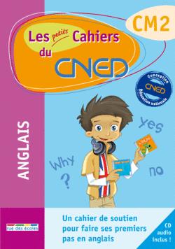 Les petits Cahiers du CNED Anglais CM2 - 9782844319081 - rue des écoles - couverture