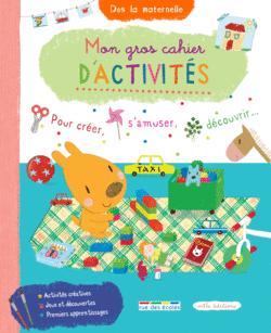 Mon Gros Cahier d'activités - 9782844319104 - rue des écoles - couverture