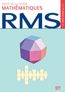 RMS - 121e année - numéro 2, janvier 2011 - 9782916609188 - rue des écoles - couverture