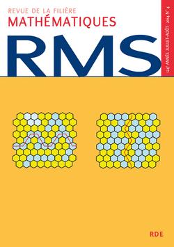 RMS - 124e année - numéro 4, juillet-août 2014 - 9782916609331 - rue des écoles - couverture